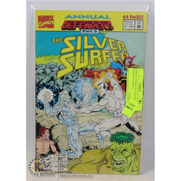 MARVEL COMICS THE SILVER SURFER 64 PAGE #5