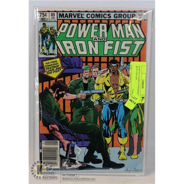 MARVEL COMICS POWERMAN AND IRON FIST #89