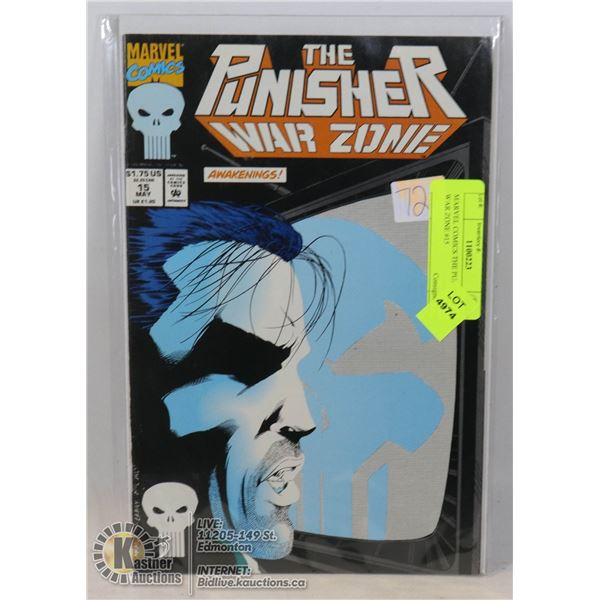 MARVEL COMICS THE PUNISHER WAR ZONE #15