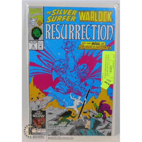MARVEL THE SILVER SURFER WARLOCK RESURRECTION #4