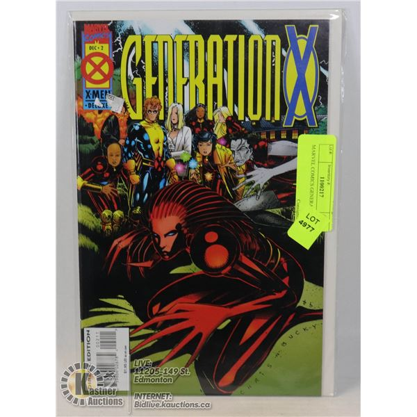 MARVEL COMICS GENERATION X #2