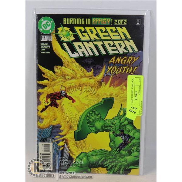 DC COMICS GREEN LANTERN #114