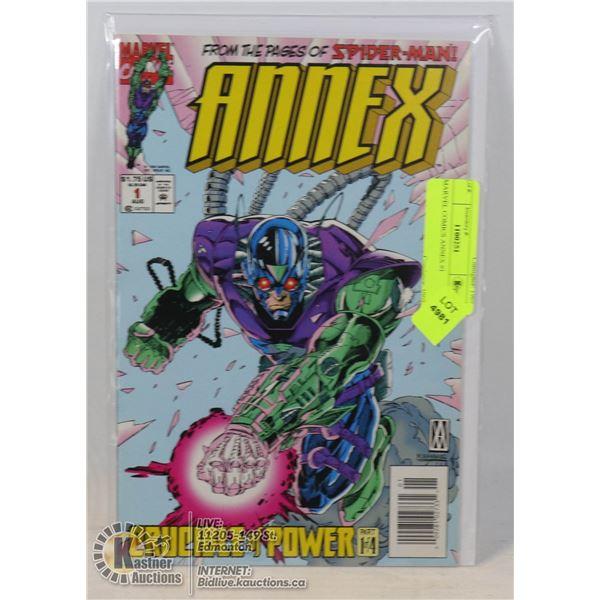 MARVEL COMICS ANNEX #1