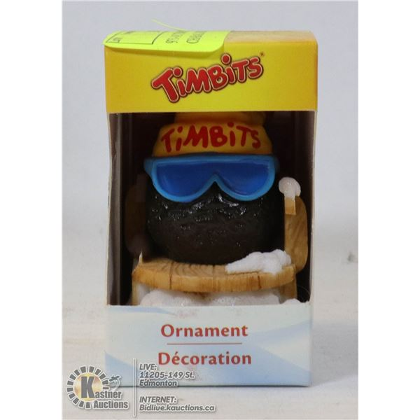 975-145 TIM HORTONS-TIMBITS CHARACATURE