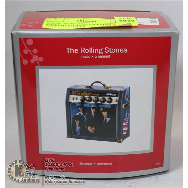 975-141 HEIRLOOM ORNAMENT-THE ROLLING STONES