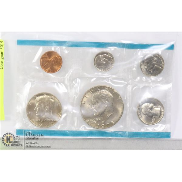 1978 USA 6 COIN SET MINT SEALED