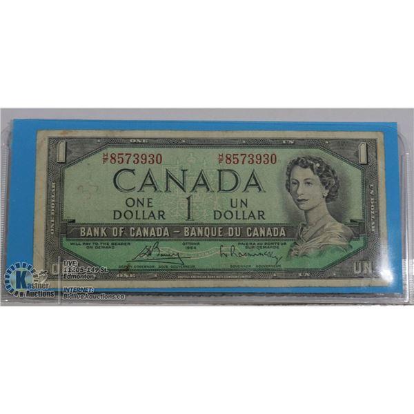 $1 1954 BC-37B-I H/F BOUEY  RASMINSKY