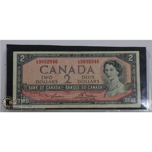 $2 1954 BC-38D L/G LAWSON BOUEY