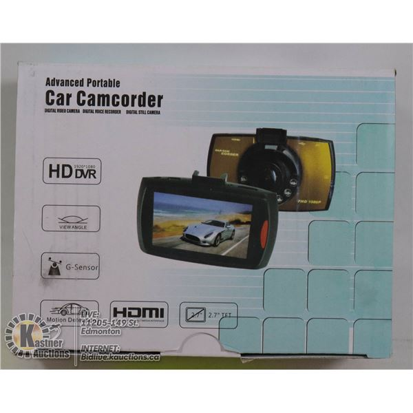 NEW HD DVR DASHCAM WITH MOUNT IN RETAIL BOX