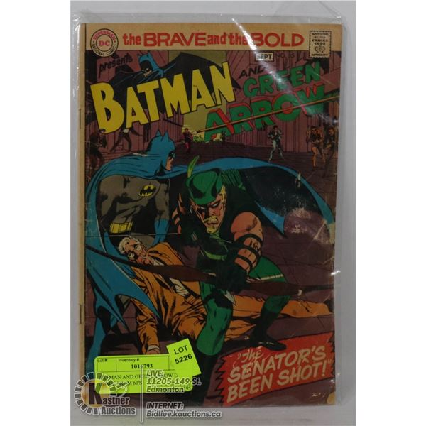 BATMAN AND GREEN ARROW DC COMIC FROM 60'S