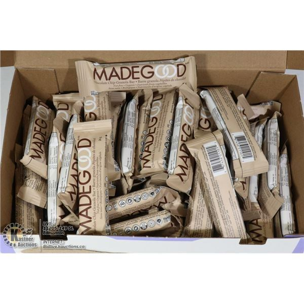 CASE OF MADE GOOD GRANOLA BARS - CHOCOLATE CHIP