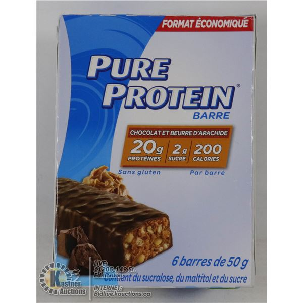 PURE PROTEIN BARS - CHOCOLATE - 20G PROTEIN