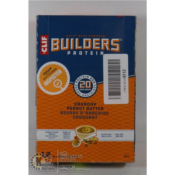 BUILDERS PROTEIN BARS - CRUNCHY PEANUT BUTTER