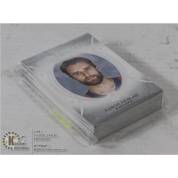 LOT OF 31 UPPERDECK PORTRAITS INSERTS 2018-19