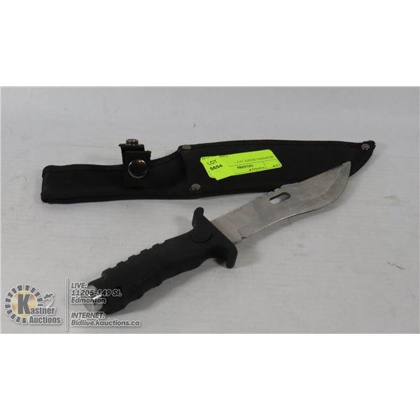 "HUNTING KNIFE 10.5 """