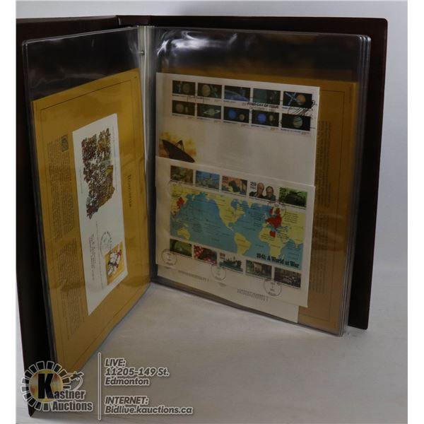 LARGE BINDER OF APPROX. 150 MIXED FIRST DAY COVERS
