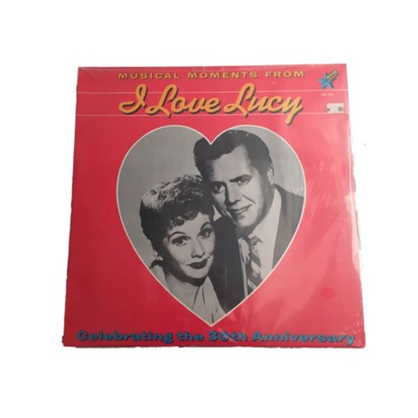 I Love Lucy 33 rpm