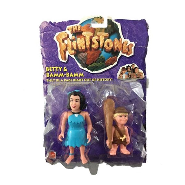 Rosie O'Donnell (as Betty) and Hlynur Sigurosson (as Bamm-Bamm) Flintstones Action Figures