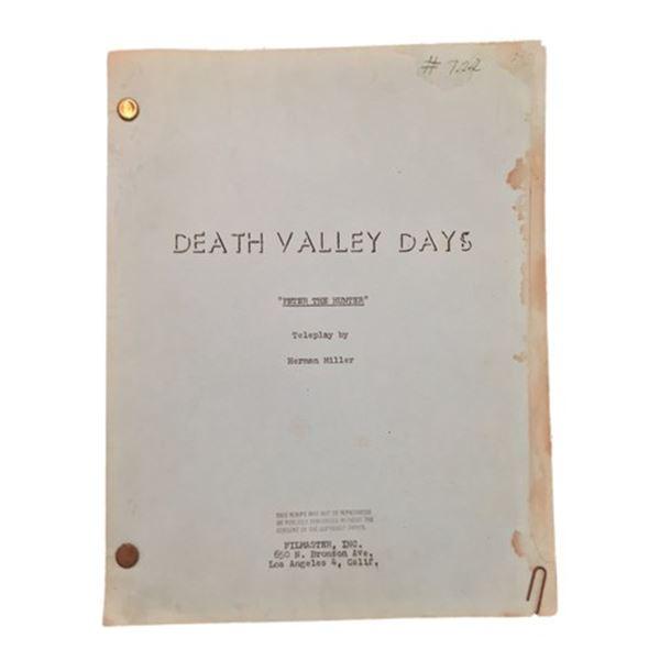 Death Valley Days Script (1964)
