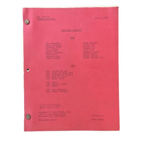 Petticoat Junction (1964) Original Script