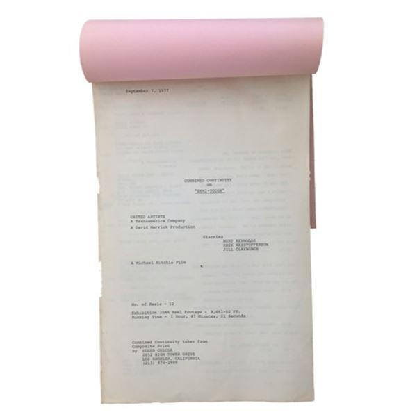 Semi Tough (1977) Burt Reynolds Continuity Script