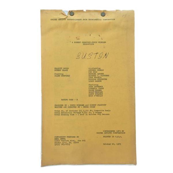 Busting (1974) Script