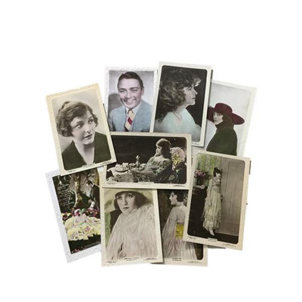 J. Beagles & Co. & Lily White Rare Portrait Postcard Collection