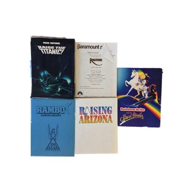 Rambo/Ragtime/Raising Arizona Press Kits Collection