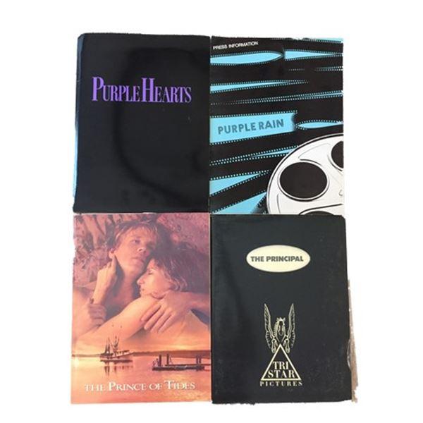 Purple Rain/Prince/Barbra Streisand/Jim Belushi Press Kits Collection