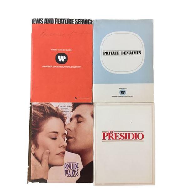 Meg Ryan/Alec Baldwin/Goldie Hawn Press Kits Collection