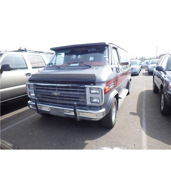 1987 Chevrolet Sportvan