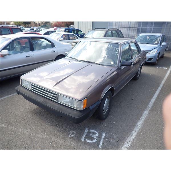 1985 Toyota Camry