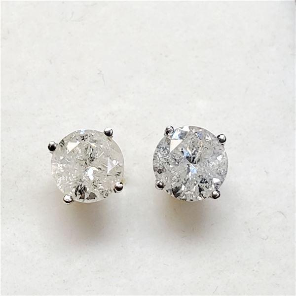 14K DIAMOND (1.18) EARRINGS