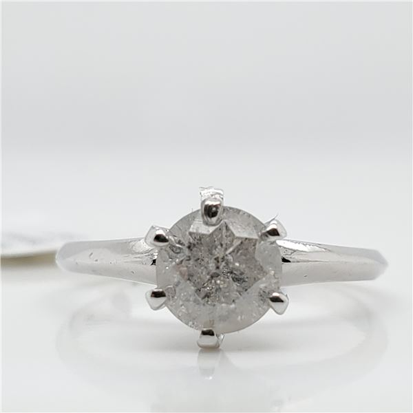 10K DIAMOND(0.9CT) RING SIZE 5.75