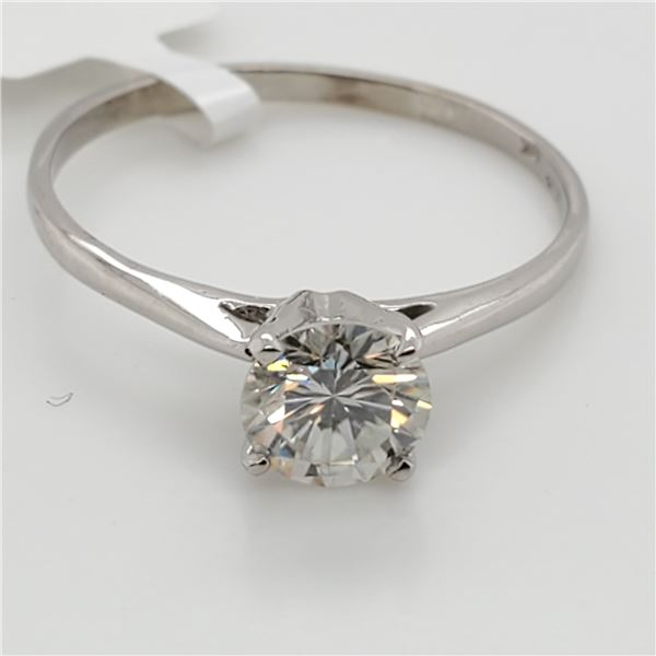 10K MOISSANITE(0.72CT) RING SIZE 6.75
