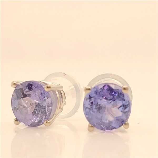 14K TANZANITE(1.1CT) EARRINGS