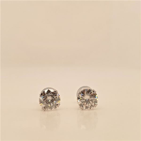 10K MOISSANITE(1.52CT) EARRINGS