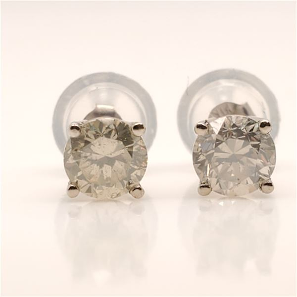 14K DIAMOND(0.62CT) EARRINGS
