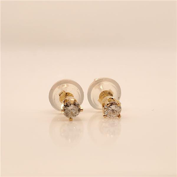 14K  DIAMOND(0.16CT) EARRINGS