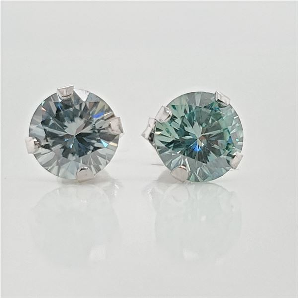 10K MOISSANITE(1.5CT) EARRINGS
