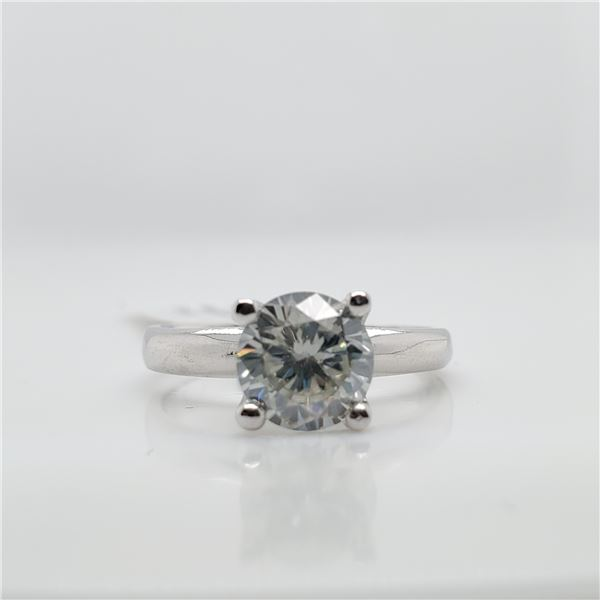 10K MOISSANITE(1.5CT) RING SIZE 6.5