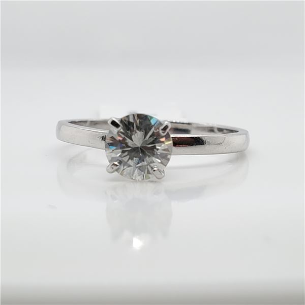 10K MOISSANITE(0.83CT) RING SIZE 8