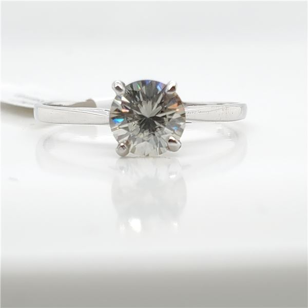 10K MOISSANITE(0.7CT) RING SIZE 6