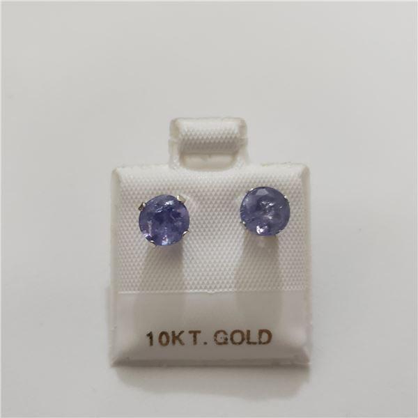 10K  TANZANITE(1.72CT) EARRINGS