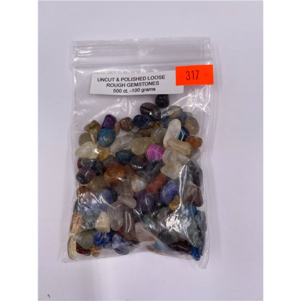 UNCUT AND POLISHED LOOSE GEMSTONES 500CT - 100G
