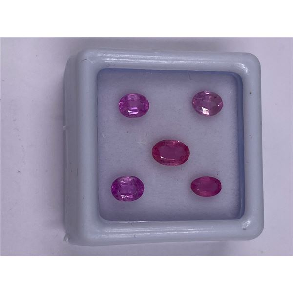 BEAUTIFUL PINK SAPPHIRE 2.40CT, 6 X 4MM, PINK COLOUR, OVAL CUT, CLARITY VS, LUSTER STUNNING, ORIGIN