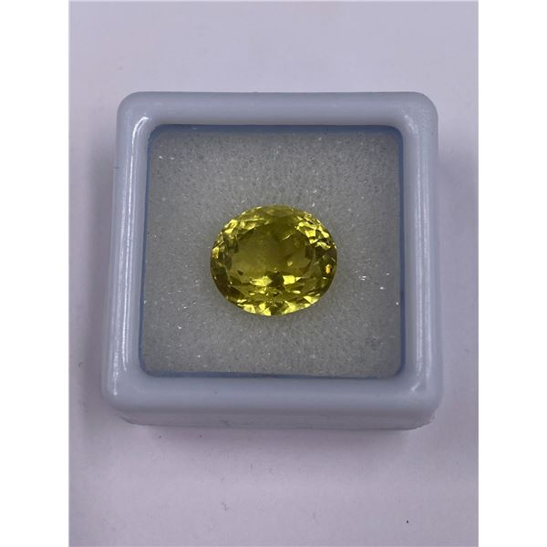 SUPERB YELLOW CITRINE 7.29CT, 11.66 X 10.43 X 9.22MM, YELLOW COLOUR, OVAL CUT, CLARITY IF, ORIGIN