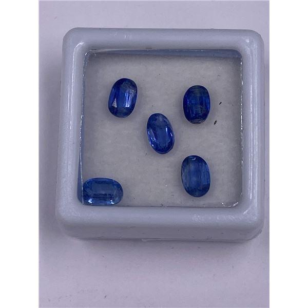 RARE KYANITE 3.05CT, 6 X 4MM, BLUE COLOUR, EMERALD CUT, CLARITY VVS, LUSTER STUNNING, ORIGIN