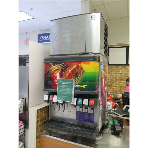 Soda Dispenser w/ Ice Maker