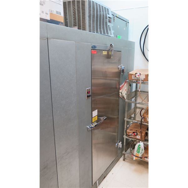 Norlake KLF46-CR-SUB Walk-in Freezer 4ft x 6ft x 6ft' 7-inch w/ Compressor (buyer responsible for sa